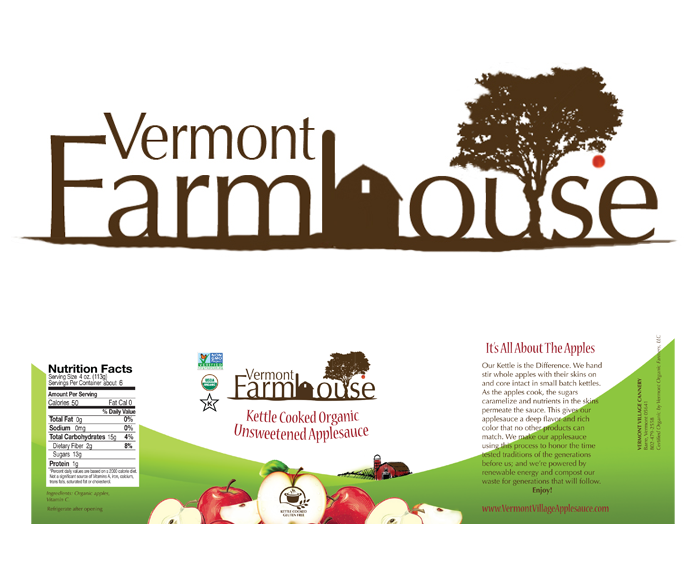 farmhouse vermont label design services